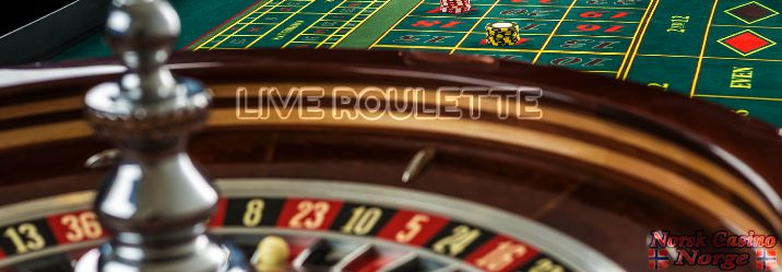 norsk live roulette